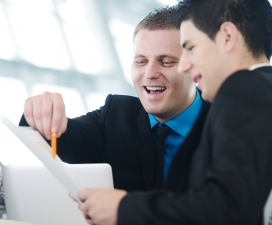 How do you communicate with your business colleagues?